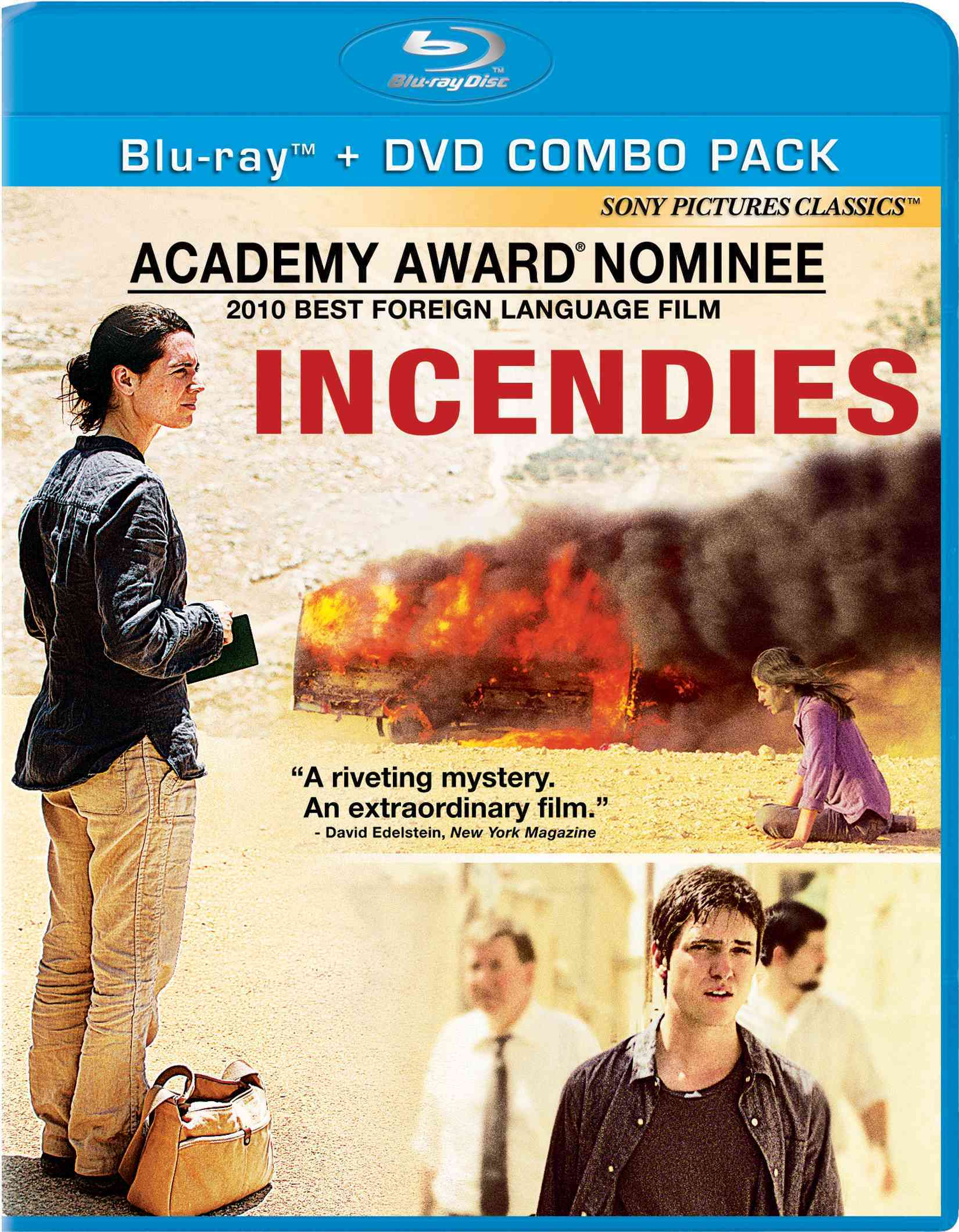 INCENDIES BY AZABAL,LUBNA (Blu-Ray)
